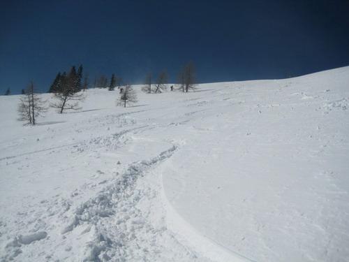 Foto: Atzi / Ski Tour / Schwalbenmauer über das Brunnental / 23.03.2009 13:14:04