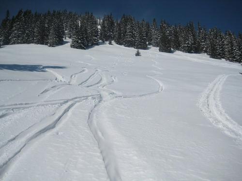 Foto: Atzi / Ski Tour / Schwalbenmauer über das Brunnental / 23.03.2009 13:13:56