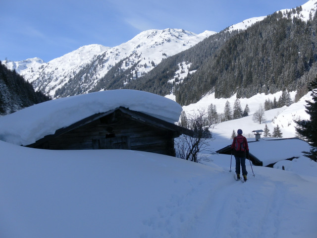 Foto: Wolfgang Lauschensky / Ski Tour / Pallspitze / Martl-Erlaualm im Langen Grund / 11.03.2012 13:44:39