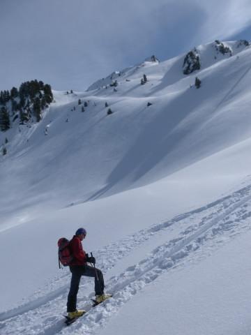 Foto: Wolfgang Lauschensky / Ski Tour / Pallspitze / Westflanke der Pallspitze  / 11.03.2012 13:41:33