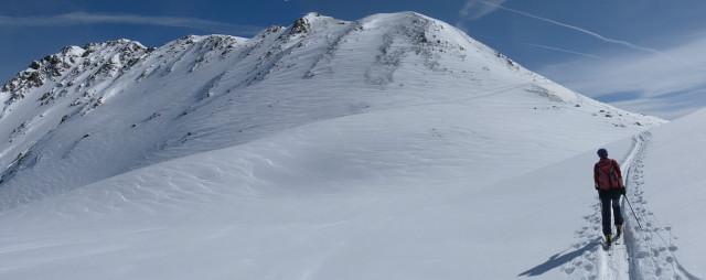 Foto: Wolfgang Lauschensky / Ski Tour / Pallspitze / Pallspitze - Südgratrücken / 11.03.2012 13:41:26