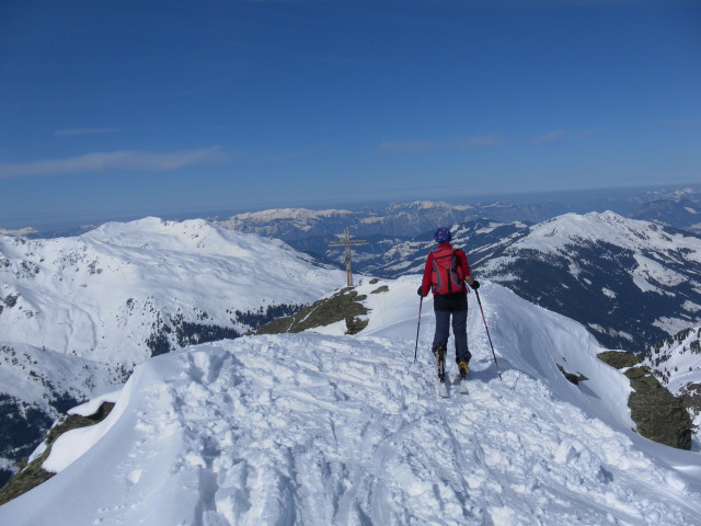 Foto: Wolfgang Lauschensky / Ski Tour / Pallspitze / Sonnenjoch und Gr.Beil von der Pallspitze gesehen / 11.03.2012 13:41:10