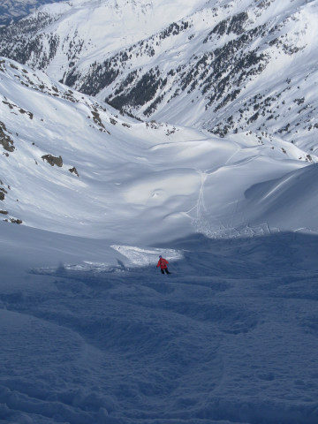 Foto: Wolfgang Lauschensky / Ski Tour / Pallspitze / Nordeinfahrt / 11.03.2012 13:40:59