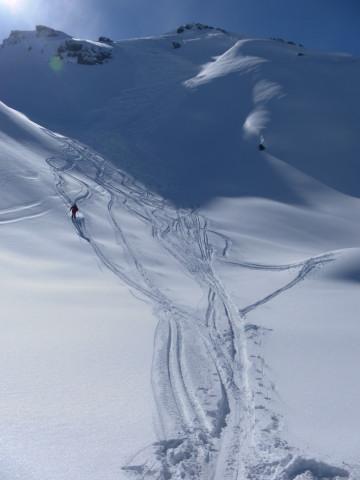Foto: Wolfgang Lauschensky / Ski Tour / Pallspitze / Nordflanke der Pallspitze / 11.03.2012 13:40:50