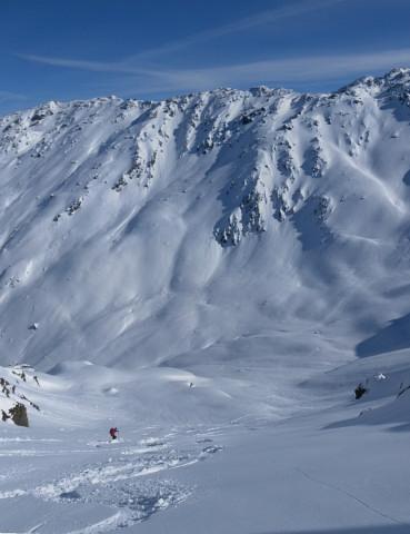 Foto: Wolfgang Lauschensky / Ski Tour / Pallspitze / steile Osthänge in den Frommgrund / 11.03.2012 13:40:33