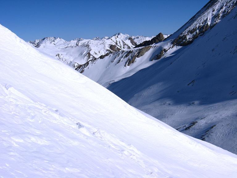 Foto: Andreas Koller / Ski Tour / Gipfelrunde im Fimbertal (3009 m) / Anstieg auf den Piz da Val Gronda / 19.02.2008 23:48:42