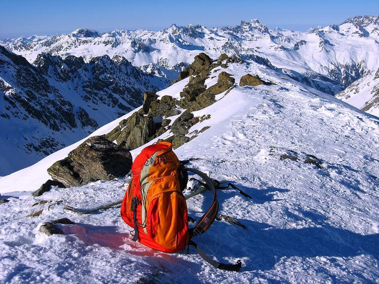 Foto: Andreas Koller / Ski Tour / Gipfelrunde im Fimbertal (3009 m) / Larainfernerspitze / 19.02.2008 23:36:34