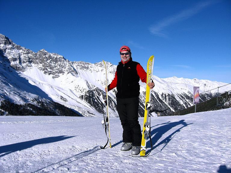 Foto: Andreas Koller / Ski Tour / Durch das Rosimtal auf die Schildspitze (3461m) / Auf der Kanzel / 22.02.2008 02:26:22