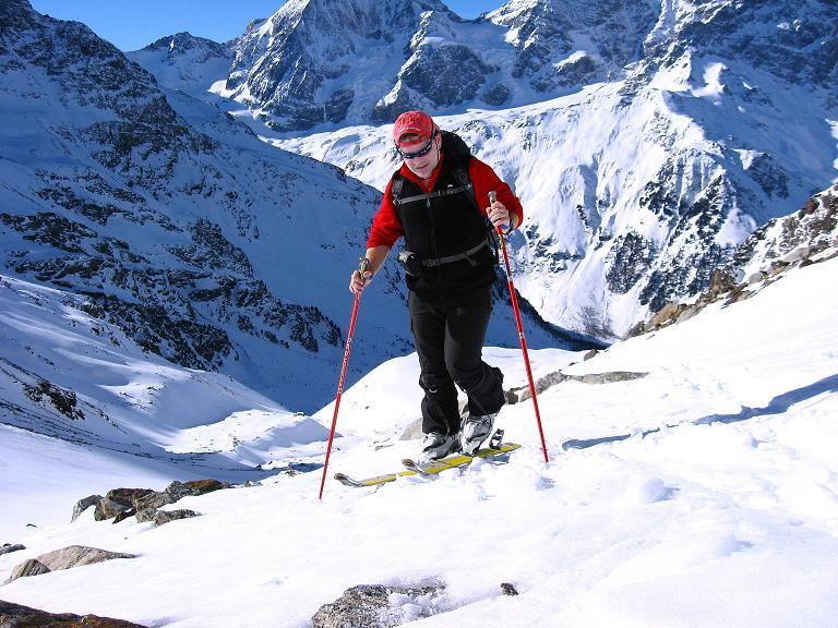 Foto: Andreas Koller / Ski Tour / Durch das Rosimtal auf die Schildspitze (3461m) / Anstieg im Rosimtal / 22.02.2008 02:24:24