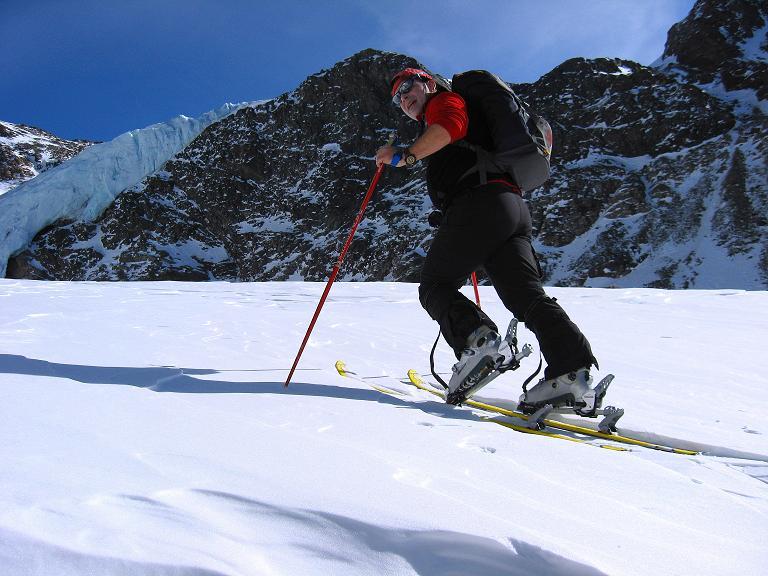 Foto: Andreas Koller / Ski Tour / Durch das Rosimtal auf die Schildspitze (3461m) / Aufstieg zum Rosimferner / 22.02.2008 02:22:31