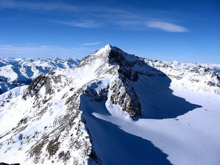 Foto: Andreas Koller / Ski Tour / Durch das Rosimtal auf die Schildspitze (3461m) / Die Vertainspitze (3545 m) / 22.02.2008 02:18:35