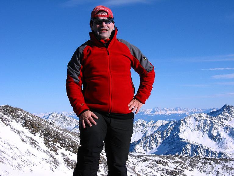 Foto: Andreas Koller / Ski Tour / Durch das Rosimtal auf die Schildspitze (3461m) / Auf der Schildspitze / 22.02.2008 02:15:56