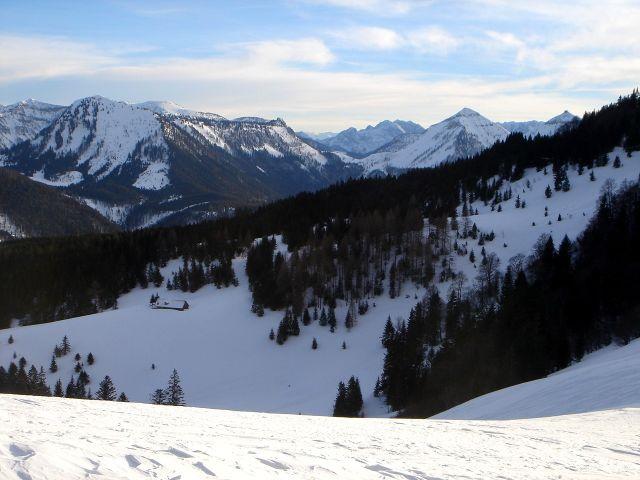 Foto: Manfred Karl / Ski Tour / Faistenauer Schafberg (1559m) / Königsberghorn - Gruberhorn / 22.02.2008 16:12:11