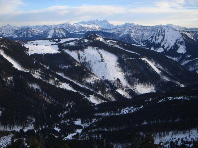Foto: Manfred Karl / Ski Tour / Faistenauer Schafberg (1559m) / Dachstein / 22.02.2008 16:09:45