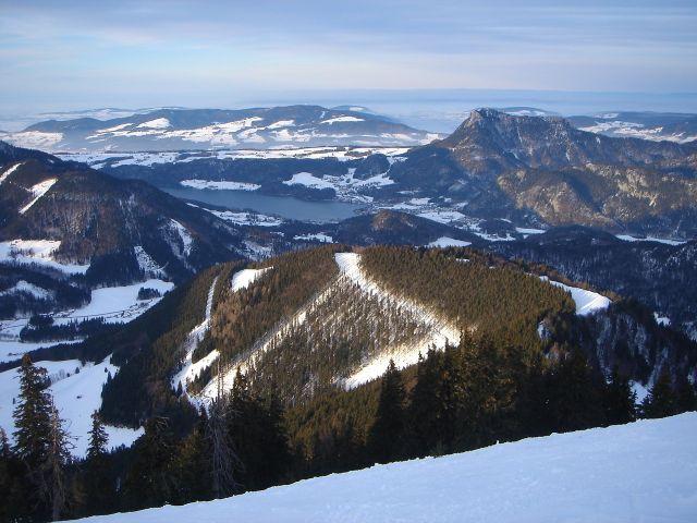 Foto: Manfred Karl / Ski Tour / Faistenauer Schafberg (1559m) / Fuschlsee / 22.02.2008 16:09:26