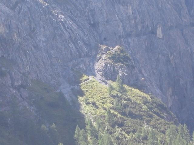 Foto: Jürgen Lindlbauer / Mountainbike Tour / Nauders-SurEn-Val d´Unia Schlucht-Sesvennahütte-Reschensee / Von der Uina Dadaint Hütte sieht man schon den Anstieg bzw. die Röhre. / 24.02.2008 19:52:30