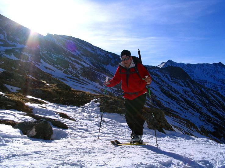 Foto: Andreas Koller / Ski Tour / Im Banne des Großglockners auf den Teufelskamp (3511m) / Anstieg zur Stüdlhütte / 26.02.2008 21:35:37