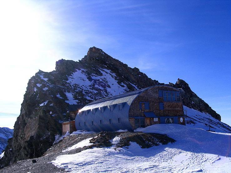 Foto: Andreas Koller / Ski Tour / Im Banne des Großglockners auf den Teufelskamp (3511m) / Stüdlhütte mit Fanatkogel (2905 m) / 26.02.2008 21:34:00