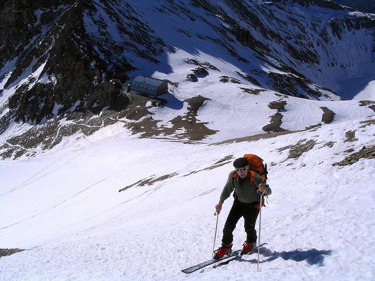 Foto: Andreas Koller / Ski Tour / Im Banne des Großglockners auf den Teufelskamp (3511m) / Anstieg über der Stüdlhütte / 26.02.2008 21:33:22