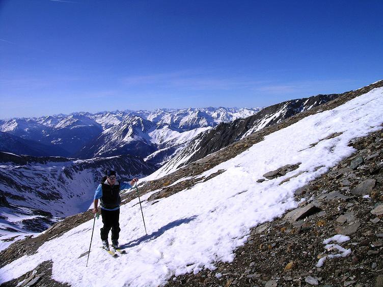 Foto: Andreas Koller / Ski Tour / Im Banne des Großglockners auf den Teufelskamp (3511m) / Hoch über der Stüdlhütte mit Blick nach S / 26.02.2008 21:33:03