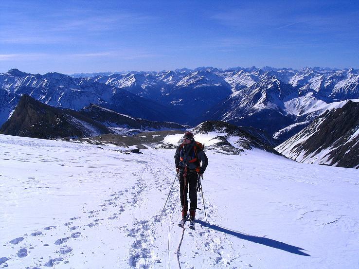 Foto: Andreas Koller / Ski Tour / Im Banne des Großglockners auf den Teufelskamp (3511m) / Am Teischnitzkees oberhalb der Schere / 26.02.2008 21:30:10