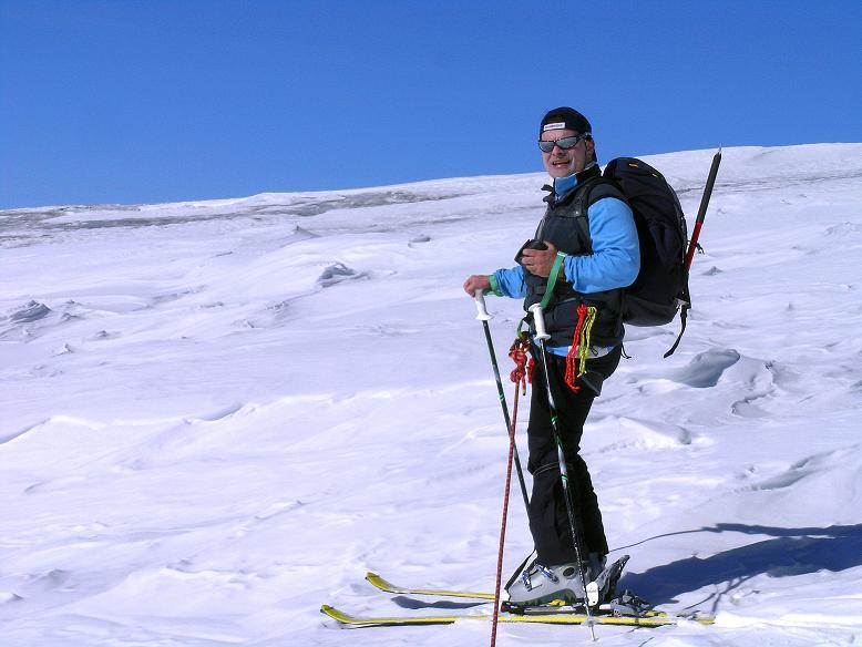 Foto: Andreas Koller / Ski Tour / Im Banne des Großglockners auf den Teufelskamp (3511m) / Am Teischnitzkees / 26.02.2008 21:27:42