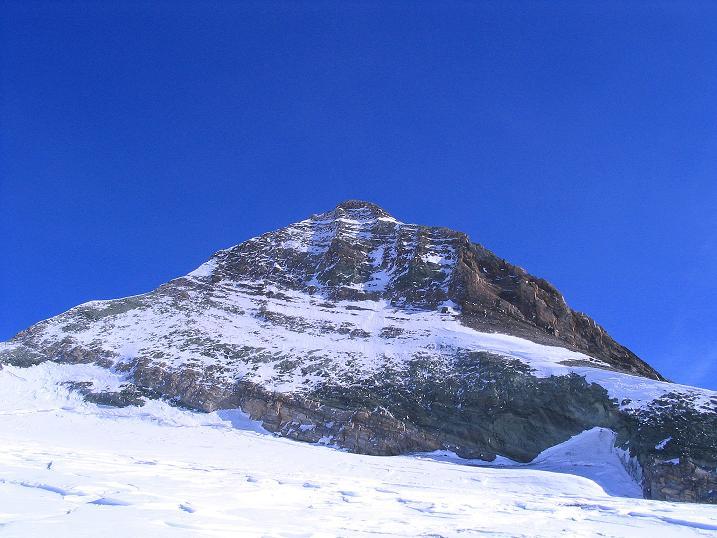 Foto: Andreas Koller / Ski Tour / Im Banne des Großglockners auf den Teufelskamp (3511m) / Blick zur Glocknerwand (3722 m) / 26.02.2008 21:21:40
