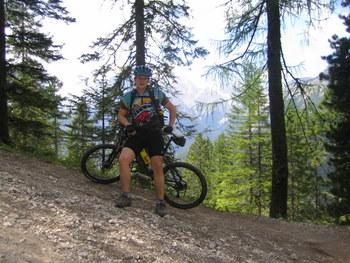 Foto: gkothi / Mountainbike Tour / 3 Zinnen Umrundung / val grande; viel steiler gehts nimma / 28.02.2008 21:20:44
