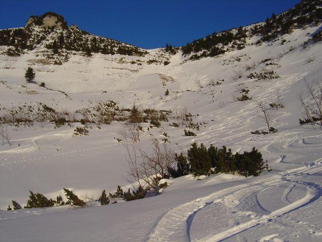 Foto: Manfred Karl / Ski Tour / Über den Tennerwinkel auf den Schmittenstein / Tennerwinkel / 29.02.2008 16:37:07