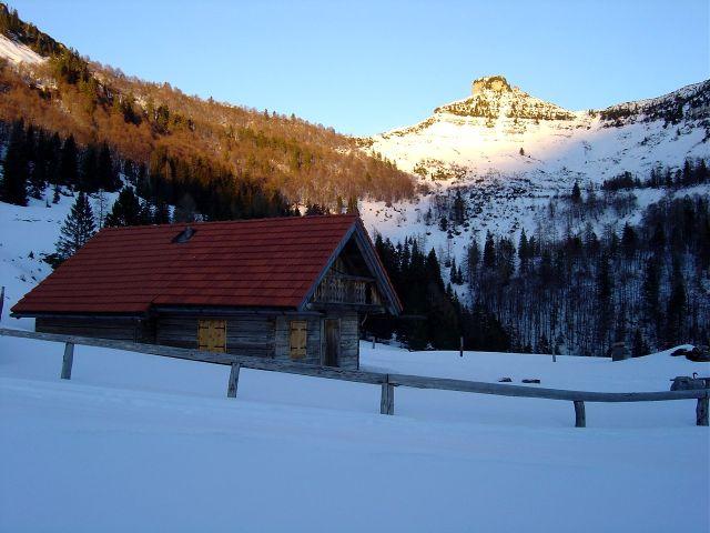 Foto: Manfred Karl / Ski Tour / Über den Tennerwinkel auf den Schmittenstein / Tenneralm / 29.02.2008 16:36:23