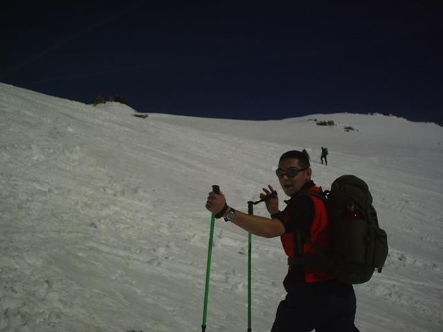 Foto: strassi21 / Ski Tour / Von Kolm Saigurn auf den Sonnblick / Man sieht das Zittelhaus, aber es kommt nicht näher. / 06.03.2008 13:53:03