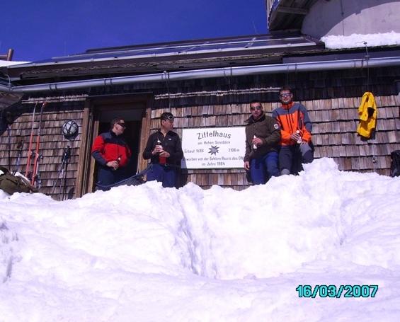 Foto: strassi21 / Ski Tour / Von Kolm Saigurn auf den Sonnblick / Beim Zittelhaus / 06.03.2008 13:58:26