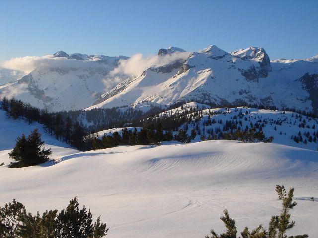 Foto: Manfred Karl / Ski Tour / Von St. Martin auf den Korein / Werfener Hochthron - Eiskögel - Tauernkogel / 14.03.2008 07:33:43