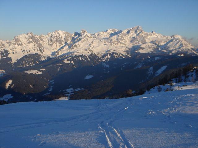 Foto: Manfred Karl / Ski Tour / Von St. Martin auf den Korein / Gosaukamm / 14.03.2008 07:28:24