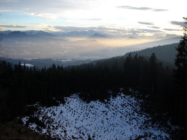 Foto: Manfred Karl / Wander Tour / Ein Berg für alle Jahreszeiten / Unterhalb vom Steinwandl / 15.03.2008 15:37:50