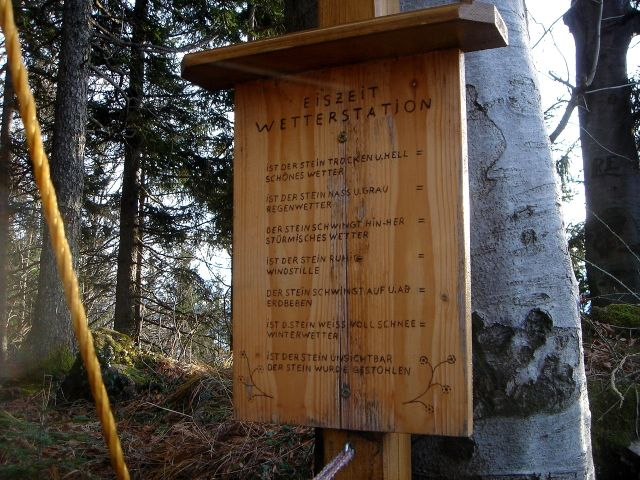 Foto: Manfred Karl / Wander Tour / Ein Berg für alle Jahreszeiten / Meteorologische Grundinformationen / 15.03.2008 15:33:56