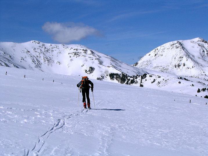 Foto: Andreas Koller / Ski Tour / Von der Turrach auf das Gregerlnock (2296m) / Startpunkt: Hirschenkogel (2040 m) / 16.03.2008 16:39:36