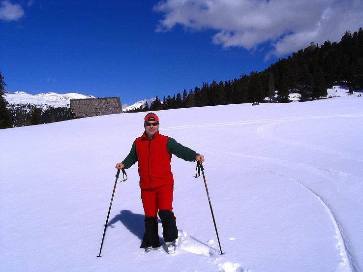 Foto: Andreas Koller / Ski Tour / Von der Turrach auf das Gregerlnock (2296m) / Fell anlegen bei der Winkler Alm / 16.03.2008 16:38:43