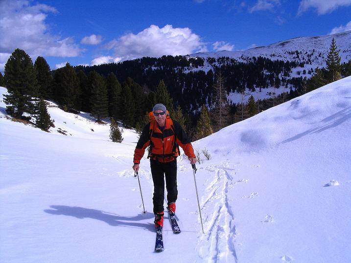Foto: Andreas Koller / Ski Tour / Von der Turrach auf das Gregerlnock (2296m) / Die letzten Meter zur Pregathütte / 16.03.2008 16:37:40