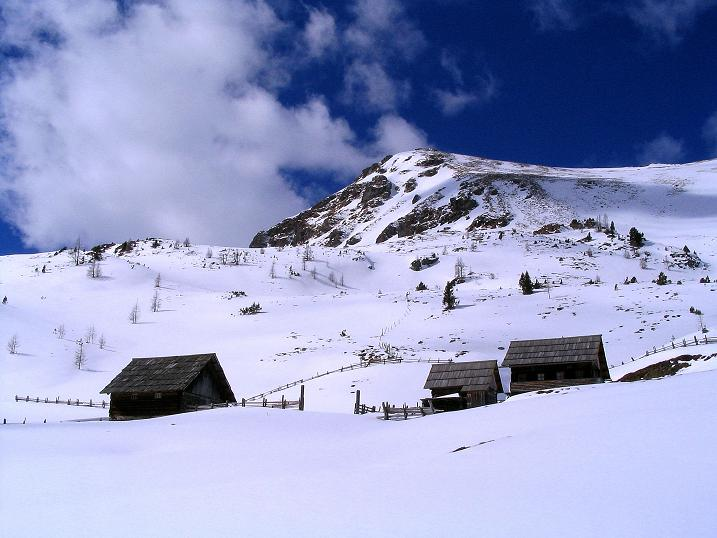 Foto: Andreas Koller / Ski Tour / Von der Turrach auf das Gregerlnock (2296m) / Pregathütte und Grögerlenock / 16.03.2008 16:37:26
