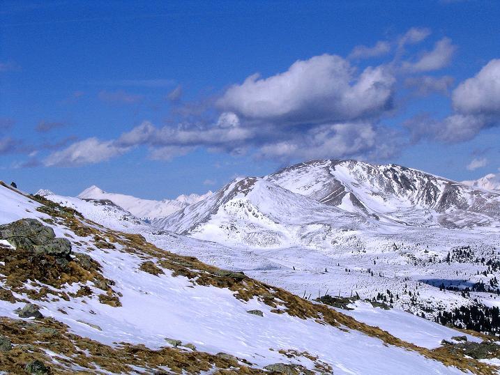 Foto: Andreas Koller / Ski Tour / Von der Turrach auf das Gregerlnock (2296m) / Blick nach N / 16.03.2008 16:34:37