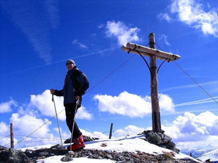 Foto: Andreas Koller / Ski Tour / Von der Turrach auf das Gregerlnock (2296m) / Am Gipfel / 16.03.2008 16:34:02