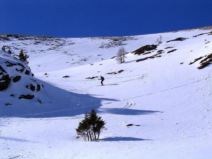Foto: Andreas Koller / Ski Tour / Von der Turrach auf das Gregerlnock (2296m) / Abfahrt in der O-Flanke / 16.03.2008 16:31:36