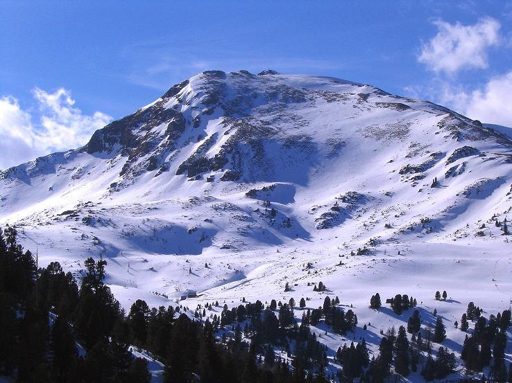 Foto: Andreas Koller / Ski Tour / Von der Turrach auf das Gregerlnock (2296m) / Ein letzter Blick aufs Grögerlenock mit seiner O-Flanke / 16.03.2008 16:31:20