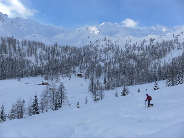 Foto: Wolfgang Lauschensky / Ski Tour / Großer Sadnig / Zwerglalm / 07.01.2011 18:28:43