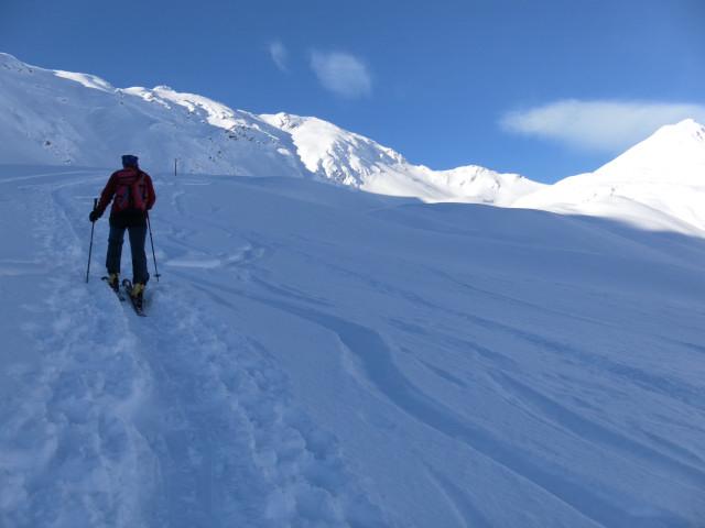 Foto: Wolfgang Lauschensky / Ski Tour / Großer Sadnig / Melenböden / 07.01.2011 18:28:32