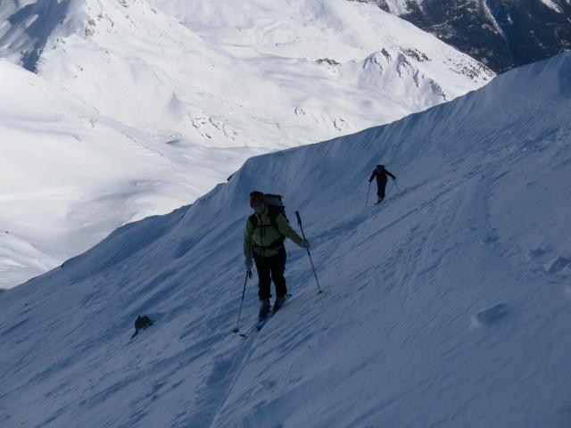 Foto: Wolfgang Lauschensky / Ski Tour / Großer Sadnig / am Nordgrat / 07.01.2011 18:28:14