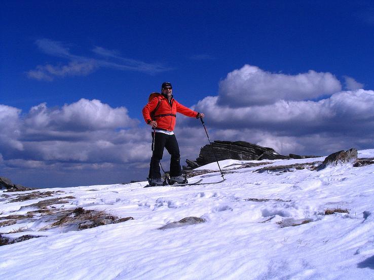 Foto: Andreas Koller / Ski Tour / Tour Goldhaube: Von der Weinebene auf die Koralpe (2140m) / Auf der Hühnerstütze / 20.03.2008 03:17:42