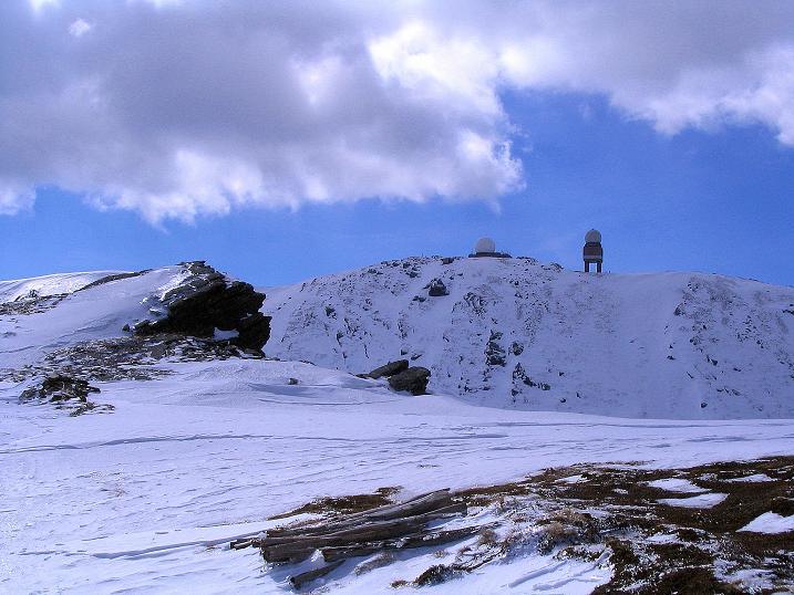 Foto: Andreas Koller / Ski Tour / Tour Goldhaube: Von der Weinebene auf die Koralpe (2140m) / Blick vom Kamm auf den Großen Speikkogel / 20.03.2008 03:16:21