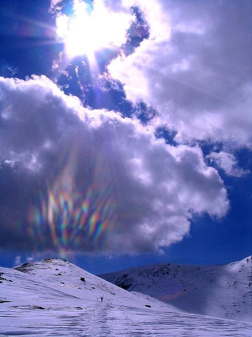 Foto: Andreas Koller / Ski Tour / Tour Goldhaube: Von der Weinebene auf die Koralpe (2140m) / Seespitz (2066 m) und Speikkogel O-Grat / 20.03.2008 03:15:47